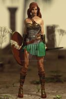 Guardian from Themyscira! by Edheldil3D