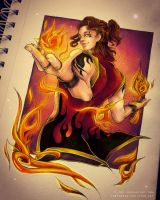 CdQ - Fire Dancer by C-Yen