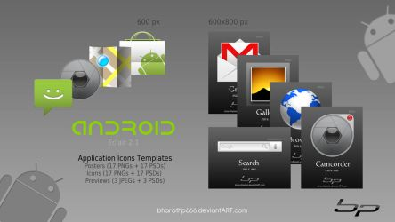 Android Icon Templates by bharathp666