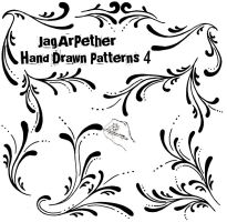 Hand Drawn Patterns 4 by JagArPether