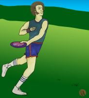 Frolf Player by sengarden