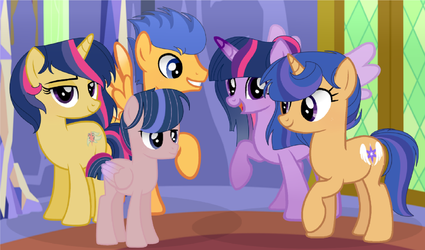 MLP FIH Next Gen Flashlight Family by MoonlightMovieYT