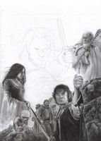 Lord of the Rings WIP 5 by D17rulez