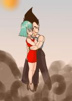 Explosion by dbzsisters