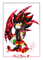 Shadow the Hedgehog Lineless by Shaylo-Artistry