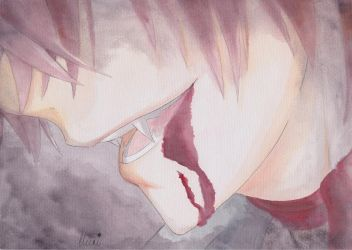 Bloody Ayato (With speedpaint) by CrystalMelody-FT