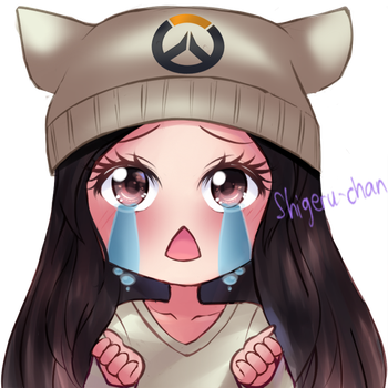 Commission MochiMio twitch icon 8 by shigeru-chan