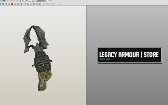 LEGEND OF ZELDA CLAW SHORT|PDO FILES|PEPAKURA DOWN by Legacy-armour