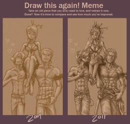 Before and After Meme by SybLaTortue