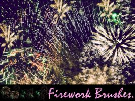 Firework Brushes by asphyxiate-Stock