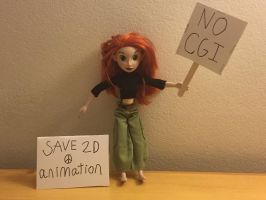 Kim possible boycott CGI by montrain101