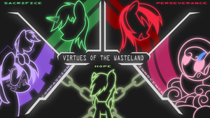 Virtues of the Wasteland Wallpaper by Brisineo