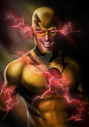 reverse flash / zoom / hunter zolomon by KevinInsanR