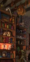 Cupboard by katya-gudkina