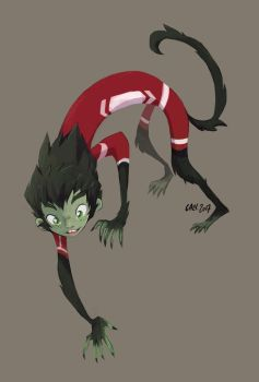Beast Boy by caly-graphie