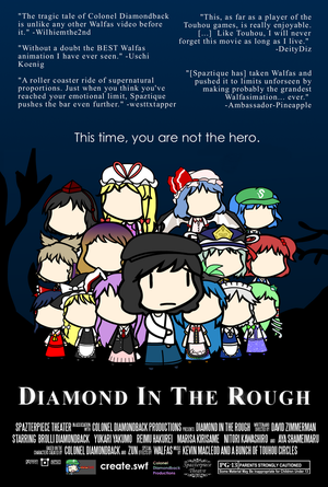 Diamond In The Rough Poster #2 by Spaztique