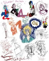 Night doodles  by DrawerMich
