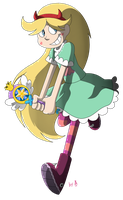 Star Butterfly by One-hell-bunny
