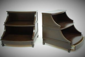 Wave Nightstands by belakwood