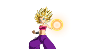 Caulifla SSJ2 by ADOLFIART