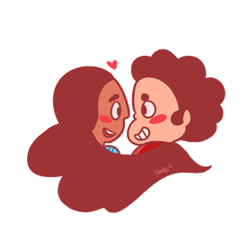 Connie x Steven by RozuPandy