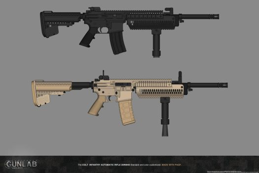 PSGP: Infantry Automatic Rifle by PSGunlabProject