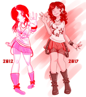Redrawing Old Art 01 by JynErik