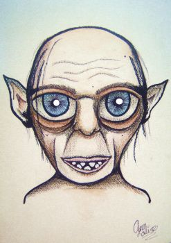 The Creature, Gollum by AmyLouiseZombie