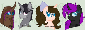 Art Squad - Headshots by Astral-Song