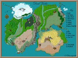 Map of Drak'Varlai by LadyDistort