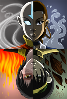 TFC - Avatar - Four Elements by direndria