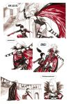 Red Marquise Vs Kirate the assassin 04 by yacermino