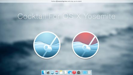 Cocktail For OS X Yosemite by JasonZigrino