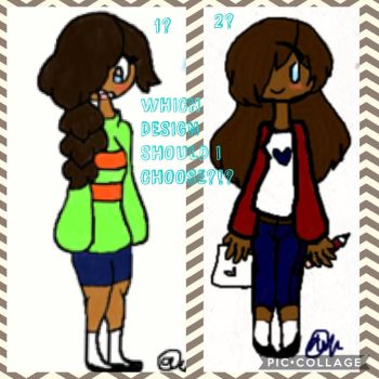 Which design for Ivy should I choose? by Meloettawriter
