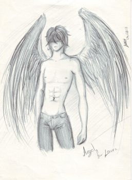 angel for laura by LexyKitty