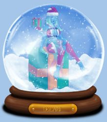 Animated Snow Globe: Leilani by Coraleana