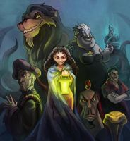 Best Disney Villains Ever by Mushstone