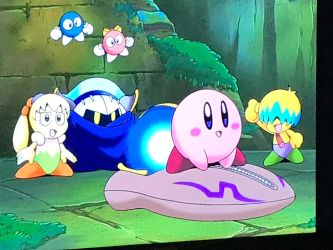 Kirby ready to battle Air Rider No. 3 by crt2mtsu1