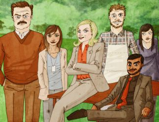 Parks and Rec by xiks
