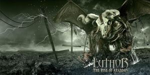 Luthor - The Rise of Abaddon CD cover by damnengine