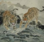 Tigers by the lake by phoenixfyre6967