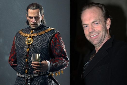 Hugo Weaving as Emperor Emhyr var Emreis by BlackBatFan