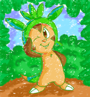 I has a Leaf Hat by Candy-Swirl