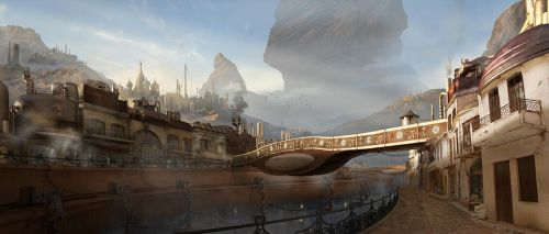 Kreola - CG Talk matte painting challenge entry by Yatzenty