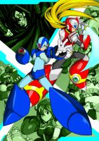 Rockman X4 by the-hary
