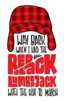 Red And Black Lumberjack by JayRoeder