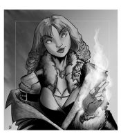 DnD Character Sketch 1 by WEXAL