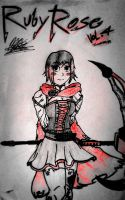 RUBY ROSE by cOmicBrooks