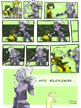 Roleplayers by Isavien
