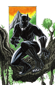 Black Panther Commission by Hodges-Art